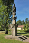 Kašny a fontány Kašna Panny Marie s Ježíškem